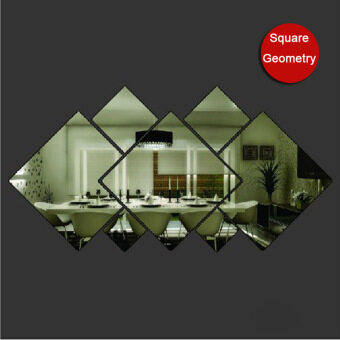 Removable Mirror Acrylic Diamond Side DIY Acrylic Decorative MirrorPaste