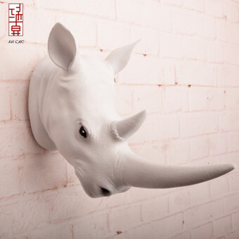 Harga Retro animal head deer wall European Decorative wall home creativewall hangings ornaments Villa bar Wall Decoration Products
