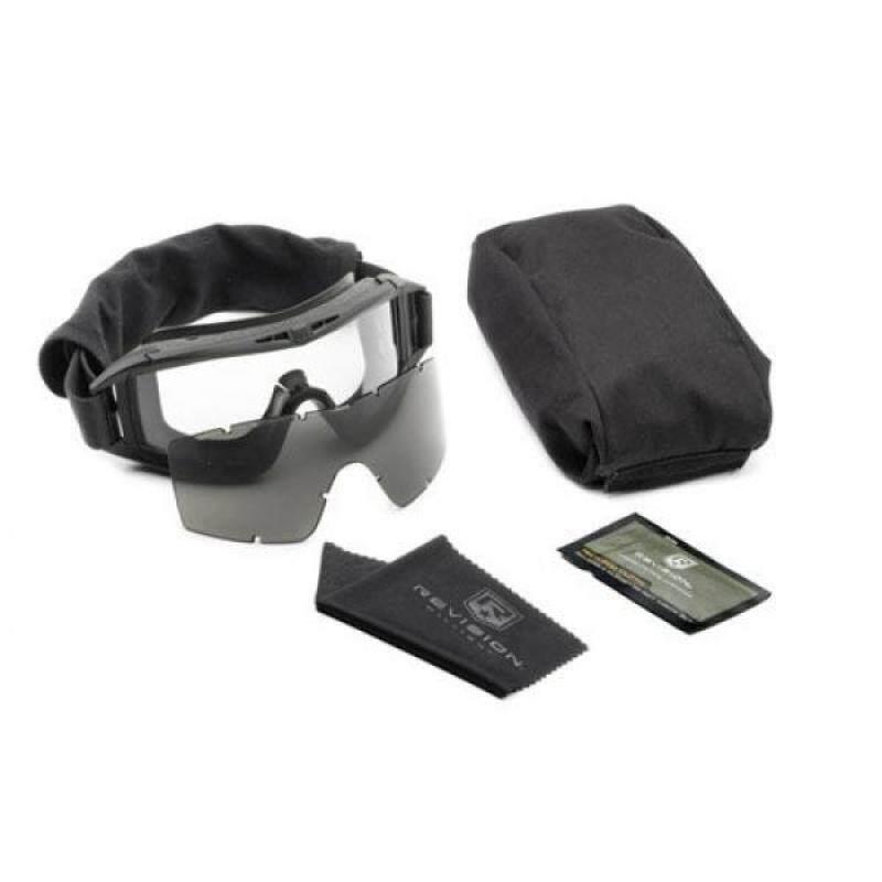 Revision Military Desert Locust Military Goggle System - Black