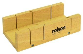 Rolson 56429 Wooden Mitre Box, 230mm