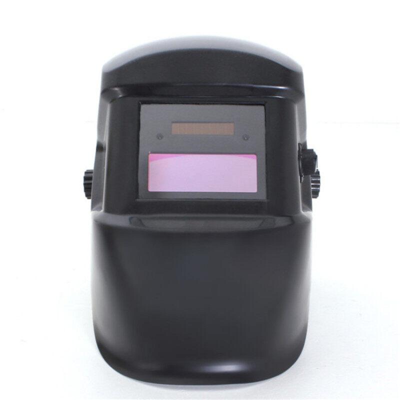 S & F Solar Auto Darkening Welding Helmet ARC TIG MIG Protective Mask (Black)
