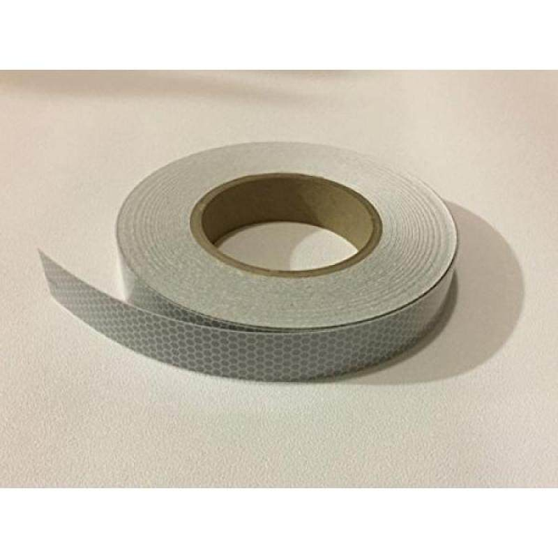 """Buy Safe Way Traction 1"""" wide x 12 Foot Long Roll of 3M Scotchlite Reflective Marine Safety Tape SOLAS Grade Pressure Sensitive Adhesive Film 3150-A Malaysia"""