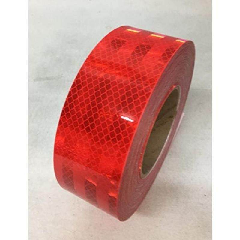 """Buy Safe Way Traction 2"""" x 12 Roll 3M Diamond Grade Conspicuity Solid Red Reflective Safety Tape 983-72NL Malaysia"""
