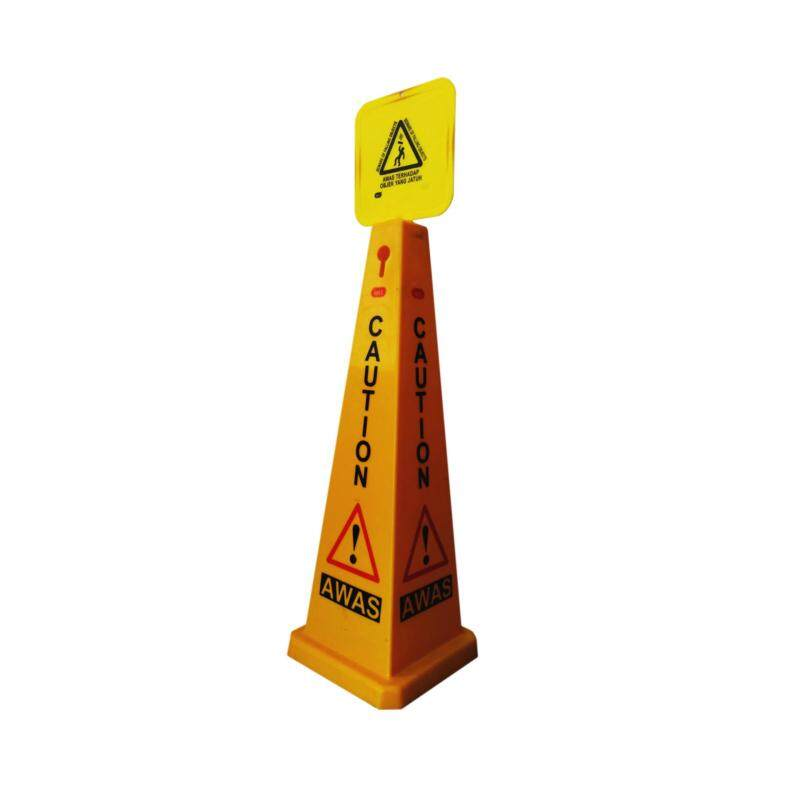 Safety Cone Sign, iMEC SC91 - Beware of Falling Object, 91cm Height