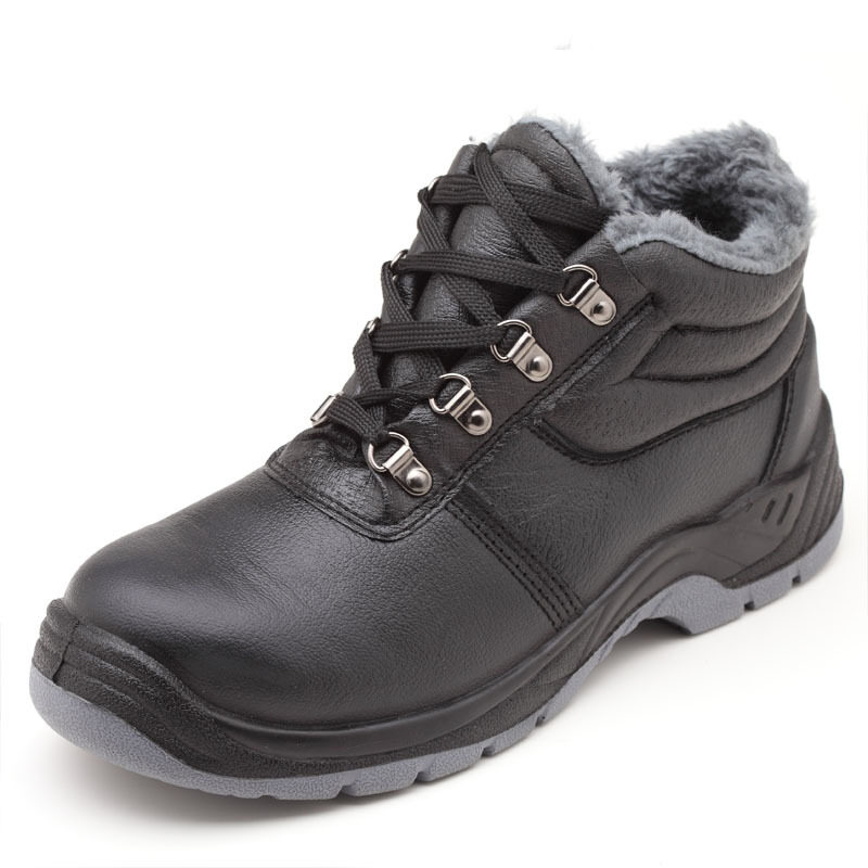 Buy Safety solid waterproof work male cotton-padded shoes labor shoes Malaysia