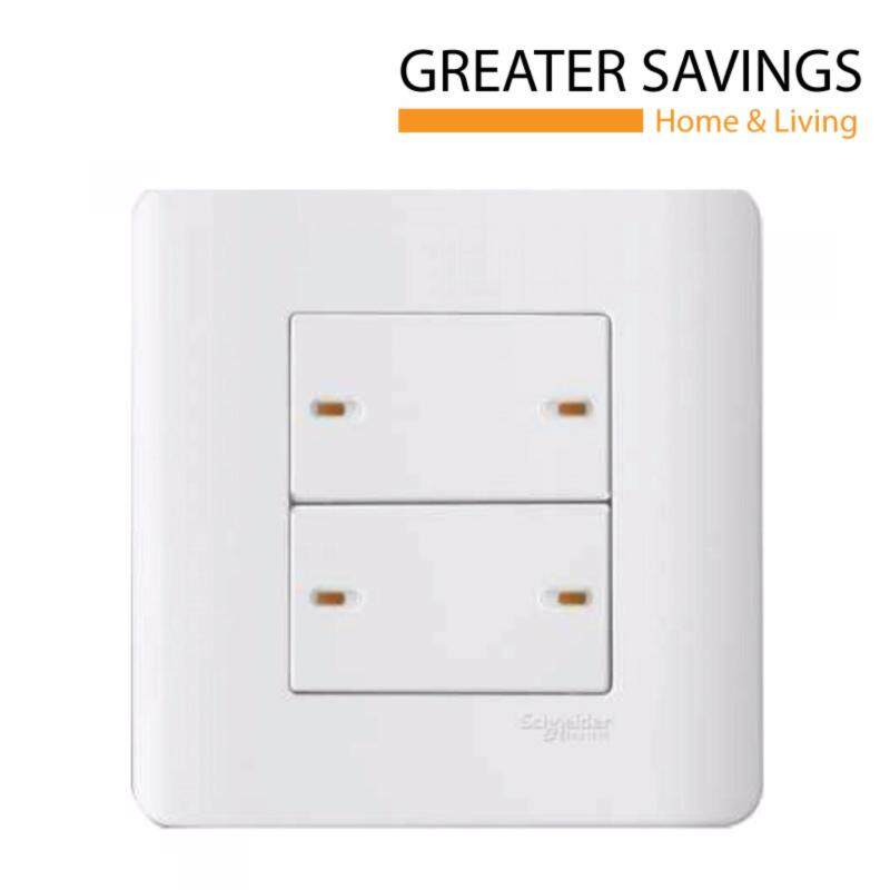 Buy SCHNEIDER ZENCELO 4 GANG 1 WAY SWITCHES , WITH ONDICATOR, WHITE E8434/1 Malaysia