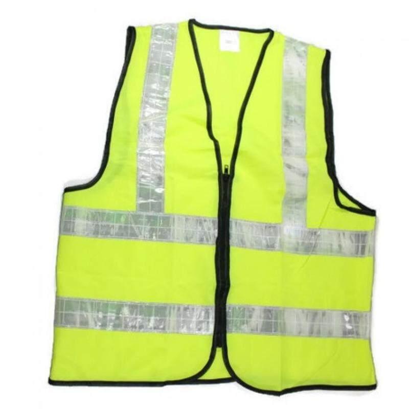 SDO Heavy Duty Reflective Vest - Xl - For Outdoor Activities, Walking, Training (YELLOW)