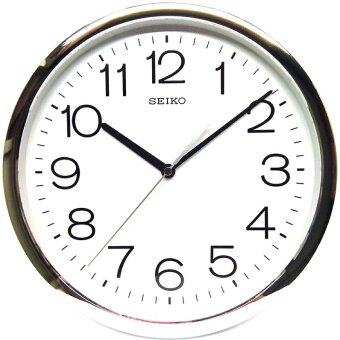 Harga Seiko QXA014S Japan Quartz Wall Clock (Silver)