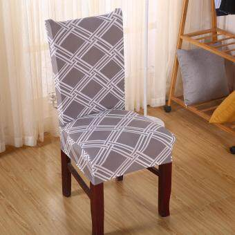 [SET of 2] Pamica Spandex Stretch Washable Dining Stool Chair Cover Protector Seat Slipcover