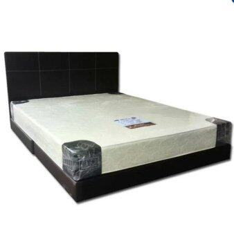 Harga SG Divan Bed with 8-inch sping Mattress Queen Size(white)