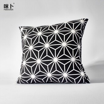 Simple modern bedside geometric pillow sofa pillow cover & Diskaun Simple Modern Audreys Fashion Pillow Cover Malaysia ... pillowsntoast.com