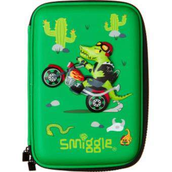 Smiggle Hardtop Pencil Case - Crocrodile
