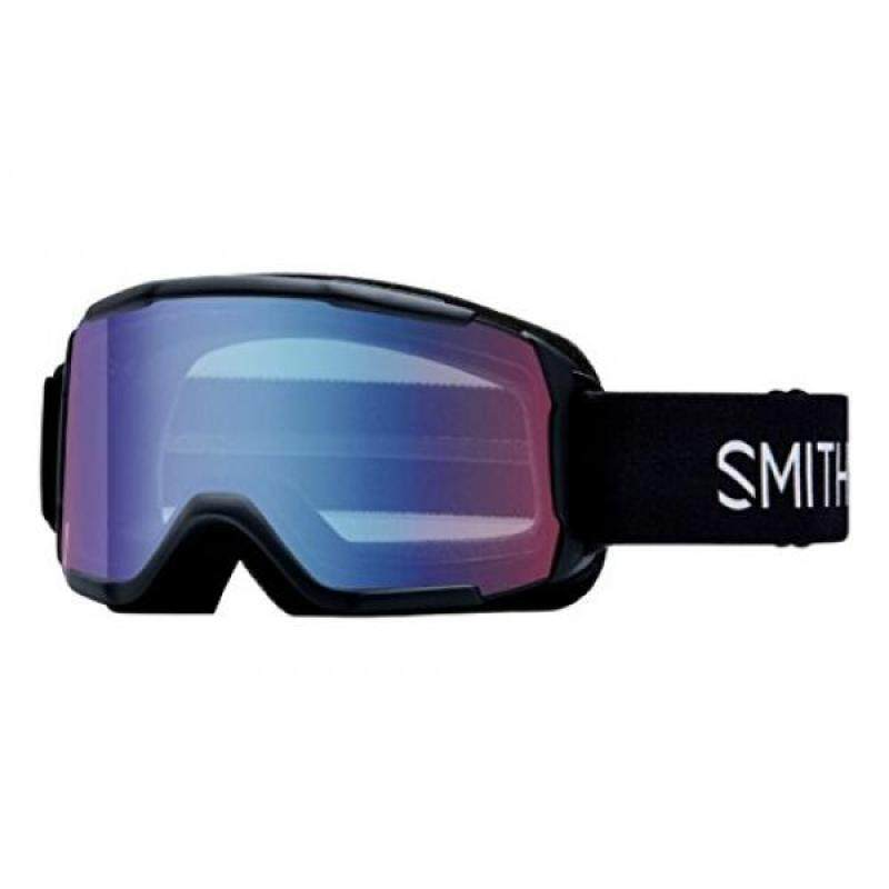 Buy Smith Optics Youth Daredevil Snow Goggles Black Frame/Blue Sensor Mirror Malaysia