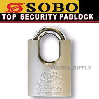 Harga SOBO 50mm Anti Cut Brass Padlock Heavy Duty for Outdoor and Indoor