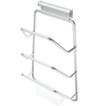 SOKANO 3 Tiers Aerospace Aluminium Lid Kitchen Rack With Water Box