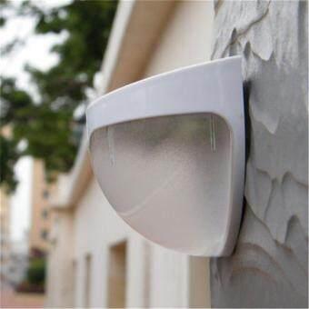 Solar Powered Wall Sensor Light Accent Lighting Waterproof 6 LEDPractical Acent Lighting 10 Packs Warm White - 4