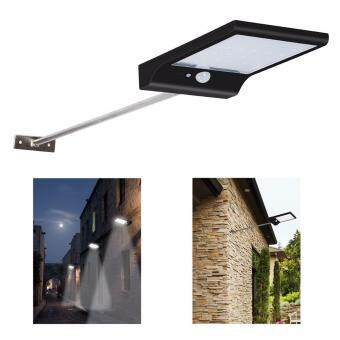 Solar street lights with mounting pole 36led wall lights motion solar street lights with mounting pole 36led wall lights motion sensor outdoor security lighting waterproof for mozeypictures Gallery