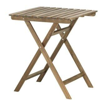 solid wood outdoor garden balcony foldable table