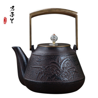 Harga Southern copper cover copper the pig iron pot Cast Iron teapot