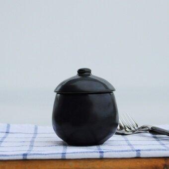 Steamed egg dessert bird's nest with lid boil egg steamed ceramic with lid bowl