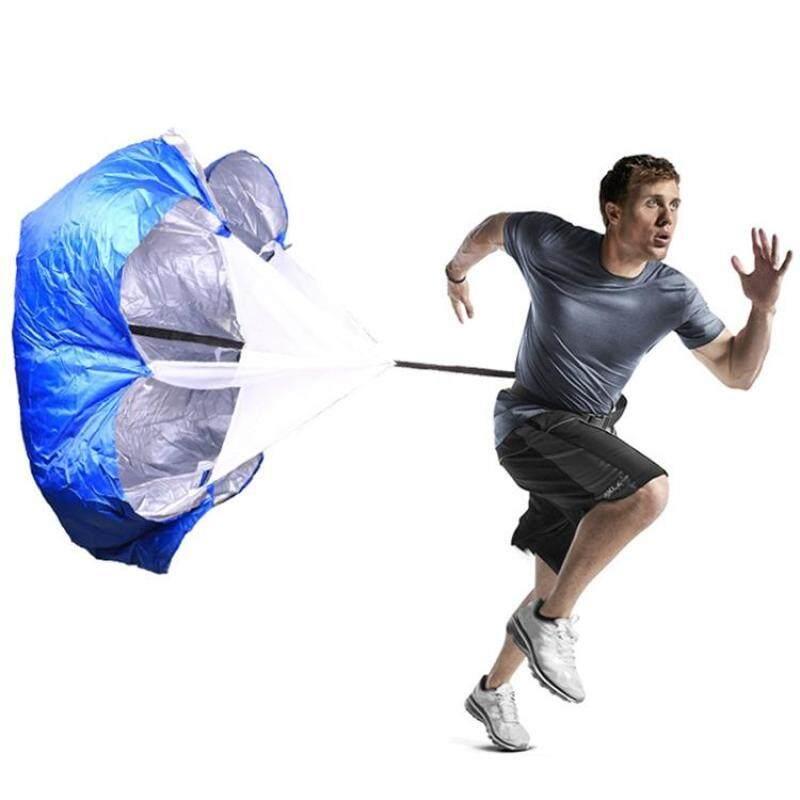 Buy Strength Training Fitness Umbrella Speed Drills Wind Air Resistance Strength Training Parachute Umbrella(Blue) Malaysia