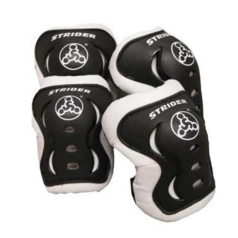 Buy Strider - Knee and Elbow Pad Set for Safe Riding, Black Malaysia