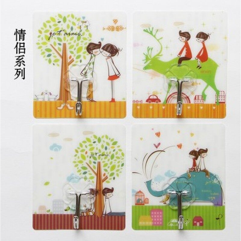 Strong dress magic stickers bearing viscose transparent adhesive hook
