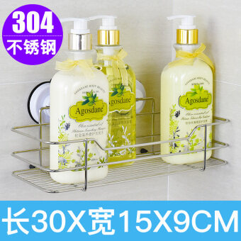 Strong stainless steel vacuum viscose suction cup shelf