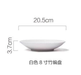 su bao candy color mud series dishes japanese ceramic bowl rice bowl steak dish