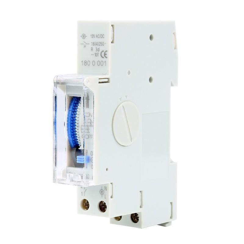SUL180a 15min DC 12V Din Rail Programmable Mechnical 24 Hours Timer Switch