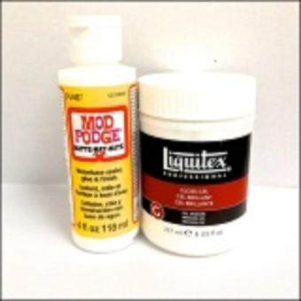 Super Combo Deal Liquitex Gloss Gel Medium and Glue Varnish