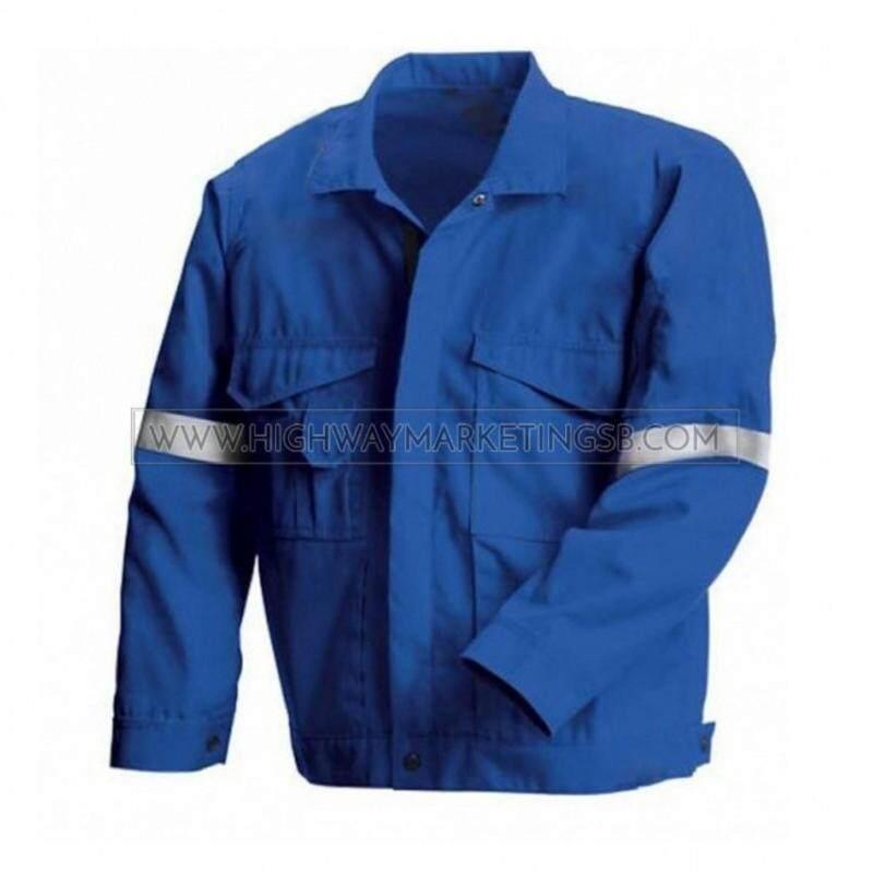Buy Supersonic Safety Reflective Workwear Jacket Blue Size 2XL Malaysia