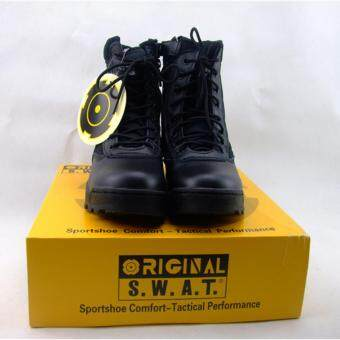 Swat outdoor military boots special forces combat boots tactical boots desert boots Size 42# - 2