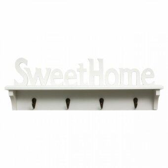 Harga Sweethome Wall Deco Rack White