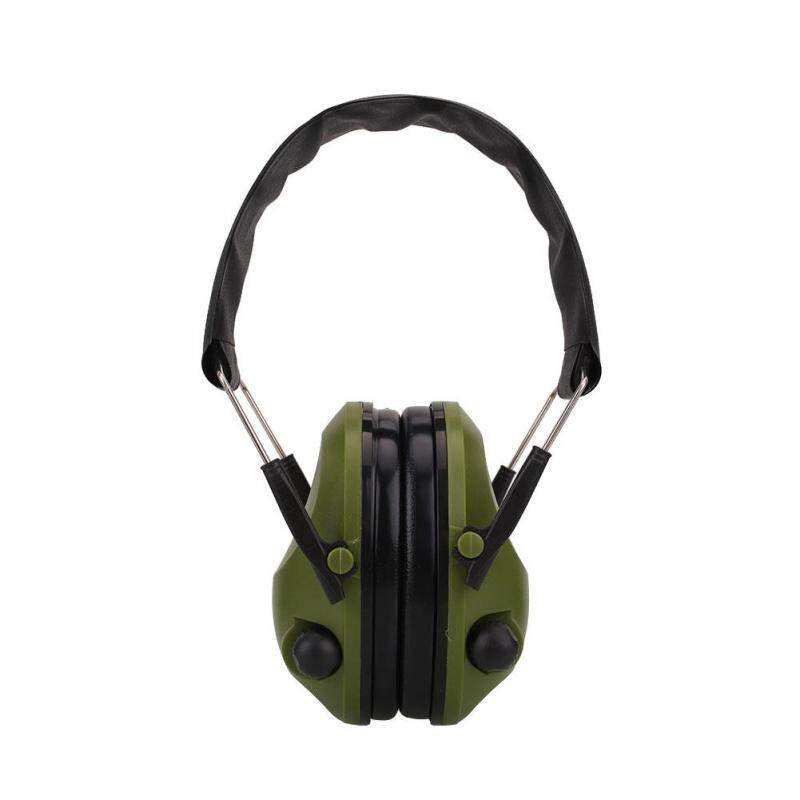 Buy Tactical Anti-Noise Impact Electronic Earmuff Fold Ear Hearing Earmuffs 21SNR Malaysia