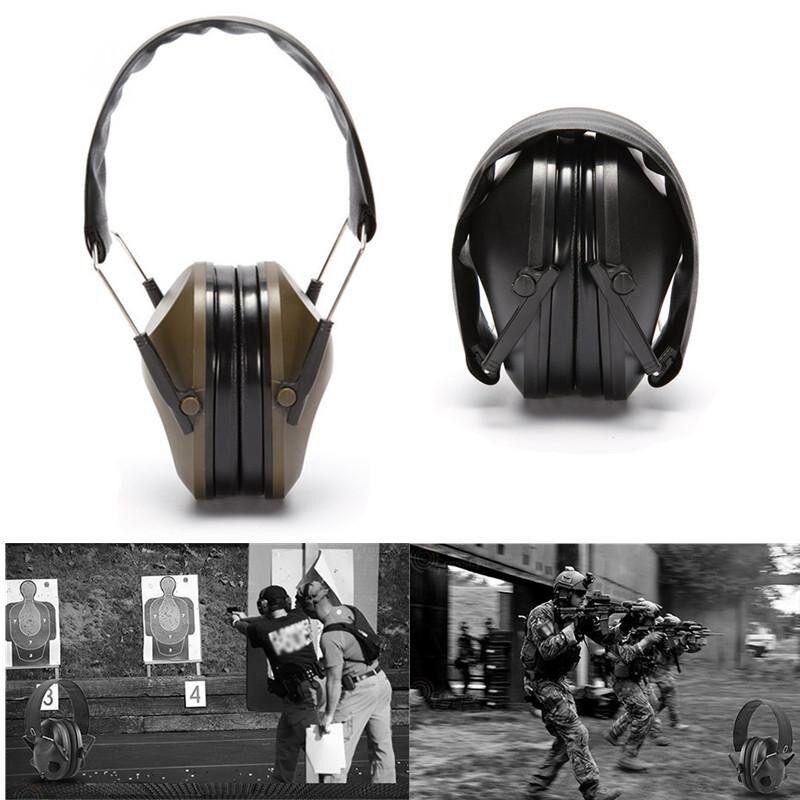 Buy Tactical Outdoor Hunting Anti-noise Earmuffs Shooting Hearing Earmuff Protector Green Malaysia