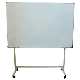 Harga Techno SSM 46 / MMC 1 Single Sided Magnetic White Board with Stand(White)