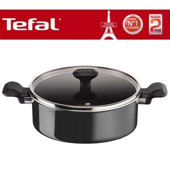 Tefal So Intensive Non Stick Shallowpan 26cm + Lid with Titanium Force 6 Layers Coating