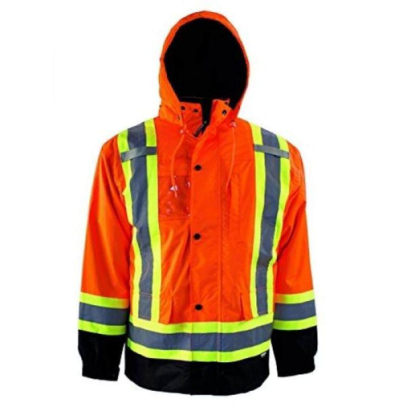 Buy Terra 116501ORM High-Visibility 7-In-1 Reflective Safety Jacket, Orange, Malaysia
