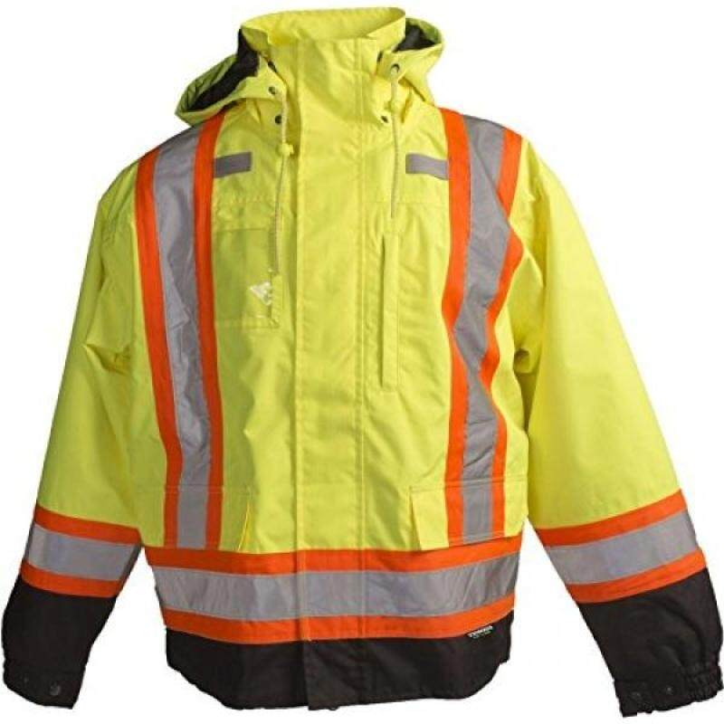 Buy Terra 116501YLXL High-Visibility 7-In-1 Reflective Safety Jacket, Yellow, Malaysia