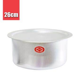 Harga Thailand Crocodile Brand | CCH Aluminium Indian Cooking Curry Soup Pot (26cm) 1pc