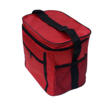 Harga Thermal Cooler Waterproof Insulated Portable Tote Picnic Lunch Bag(Red)