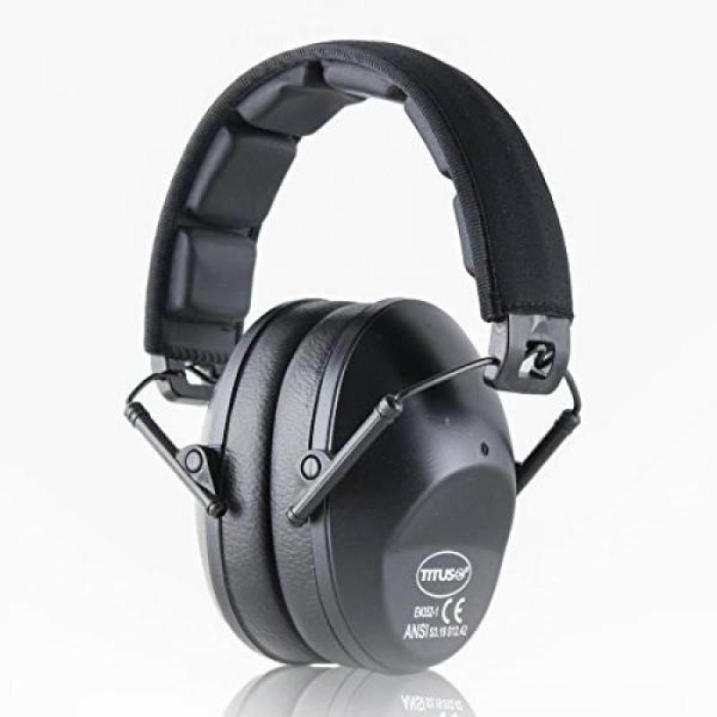 Buy TITUS Low-Profile 34 Decibel NRR Safety Earmuffs (No Pouch, Black) Malaysia