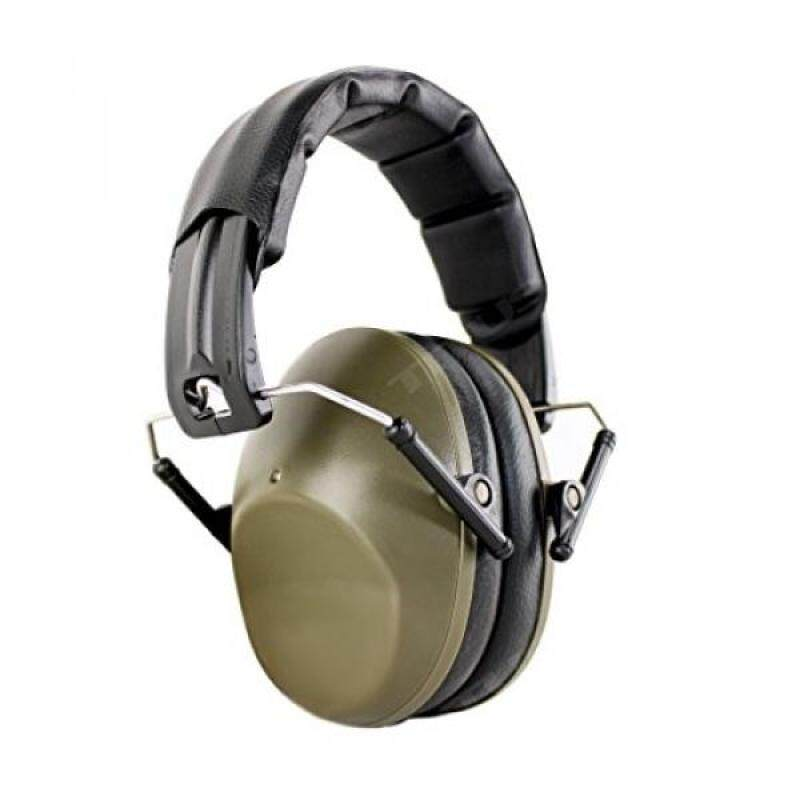 Buy TITUS Low-Profile 34 Decibel NRR Safety Earmuffs (No Pouch, Plain Olive Drab) Malaysia
