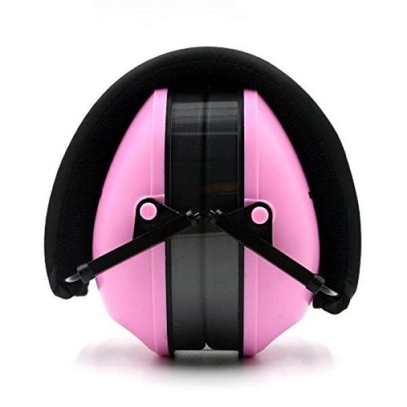 Toennesen Noise Reduction Earmuffs Shooting Adjustable Soundproofing Ear Defenders Protector noise Hearing EarMuffs Folding Headphones for Sleeping Concert Weeding Travel Sensitive Autism Pink