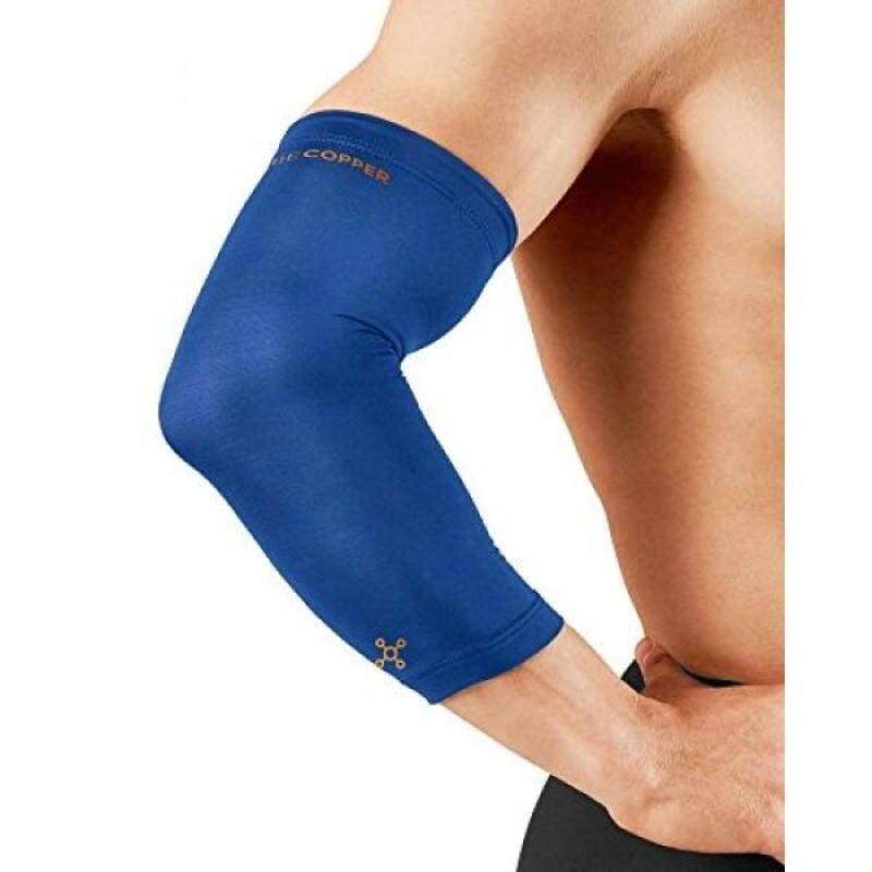 Buy Tommie Copper Mens Recovery Vantage Elbow Sleeve, Cobalt Blue, Malaysia