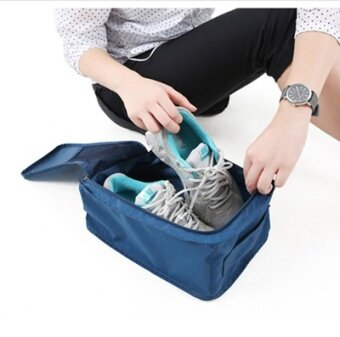 Harga Travel shoes travel supplies waterproof shoe bag shoe covers