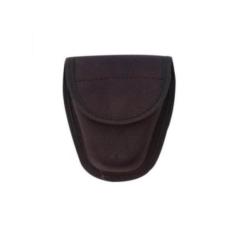 "Buy TRU-SPEC 4623000 Black Open Top Handcuff, 2"" Height, 6"" Wide, 8"" Length, 1680 Denier Ballistic Pack Cloth, One Size Malaysia"