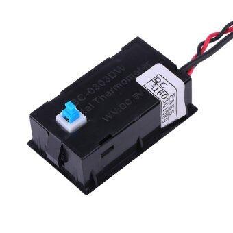 ... TS-801 LCD Digital Temperature Thermometer Meter Gauge PC Car ModC/F Molex Panel