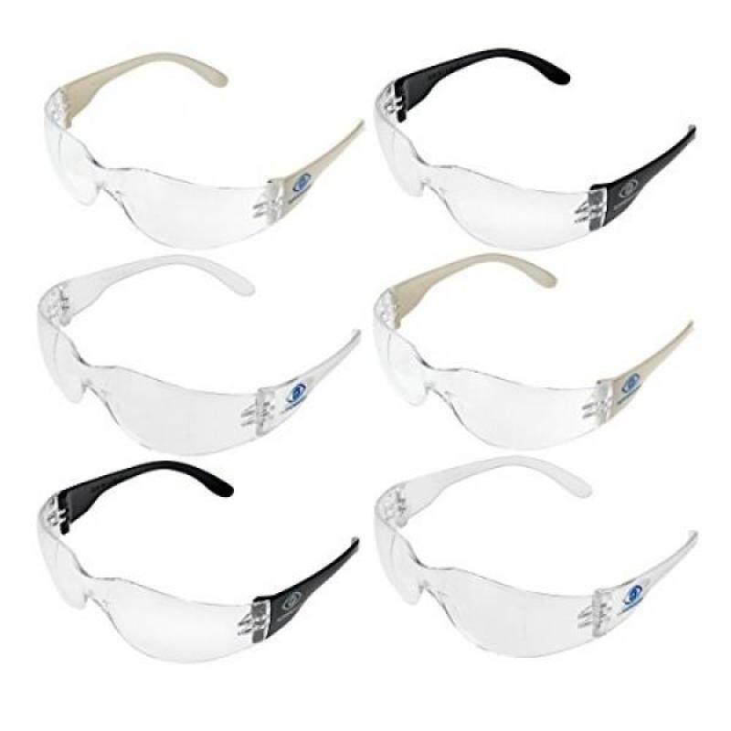 Tuffenough Anti Fog Safety Glasses, 6 Piece